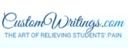 Small customwritings logo